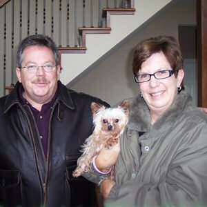 Elvis, Mom Pam & Dad Edward