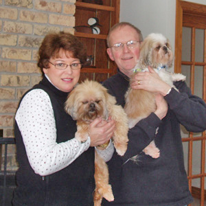Gidget, Prissy, Mom Carleen & Dad Terry