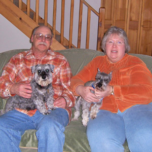 Schatzi, Mom Michelle and Dad Bill