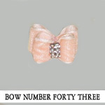 Bow Number Forty Three