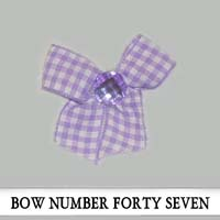 Bow Number Forty Seven