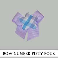 Bow Number Fifty Four