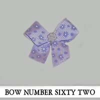 Bow Number Sixty Two