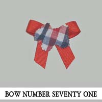 Bow Number Seventy One