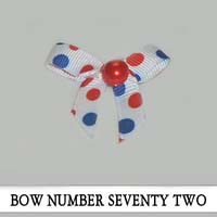 Bow Number Seventy Two