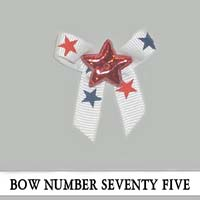 Bow Number Seventy Five
