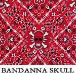Bandana Skulls..THREE XS**TWO Small**TWO XL