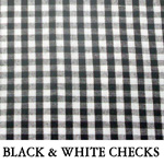 Black & White Checks