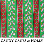 Candy Canes & Holly