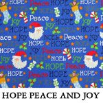 Hope Peace and Joy