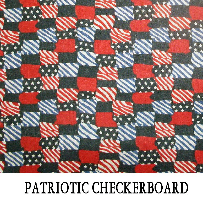 Patriotic Checker