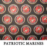 Reversible Patriotic Marines..FOUR M