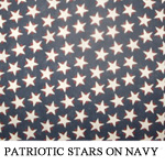 Patriotic Stars on Navy
