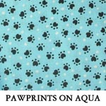 Pawprints on Aqua