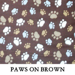 Paws on Brown