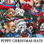 Puppy Christmas Hats