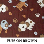 Pups on Brown