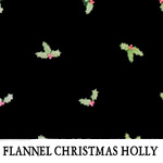 Flannel Christmas Holly