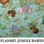 Flannel Jungle Babies