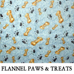 Flannel Paws & Treats