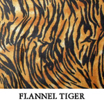 Flannel Tiger..THREE S