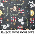 Flannel Woof Woof Love
