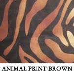 Animal Print Brown