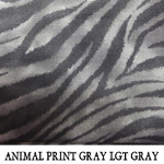 Animal Print Gray Light Gray