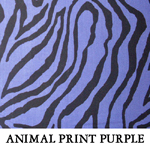 Animal Print Purple..ONE S**ONE L**ONE XL