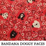 Bandana Doggy Faces