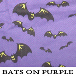 Bats on Purple