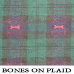 Bones on Plaid