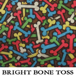 Bright Bone Toss