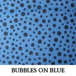 Bubbles on Blue