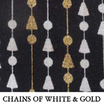Chains of White & Gold