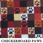 Checkerboard Paws