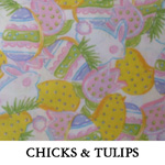 Chicks & Tulips