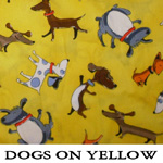 Dogs on Yellow