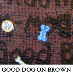 Good Dog on Brown
