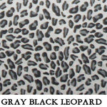 Gray Black Leopard