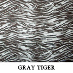 Gray Tiger..ONE XS**THREE S**ONE XL