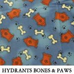 Hydrants Bones & Paws