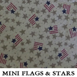 Mini Flags & Stars