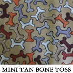 Mini Tan Bone Toss