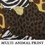 Multi Animal Print..TWO M**ONE XL