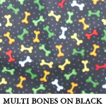 Multi Bones on Black