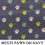 Multi Paws on Navy