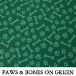 Paws & Bones on Green
