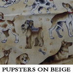 Pupsters on Beige