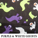Purple & White Ghosts